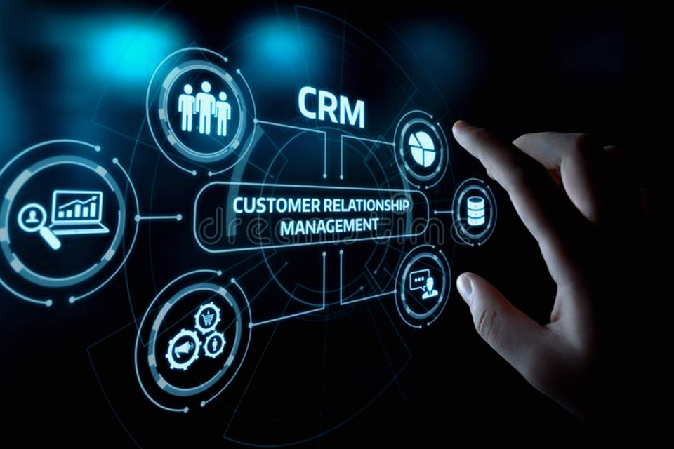 comment crm gestion stock